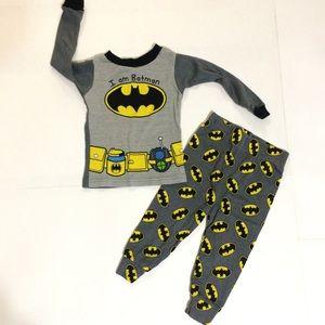 Boys Batman Pjs Set